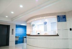 A modern hospital scene